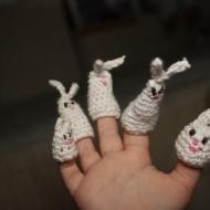 Набор пальчиковых зайчиков