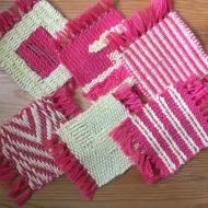 Салфетки в технике художественного ткачества