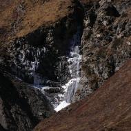 Водопад со льдом