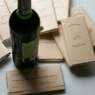 Подарочное вино и шоколад